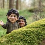 Bland tomtar och troll i skogen i Fågelsång