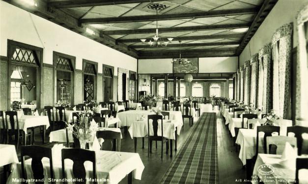 Historien om Strandhotellet och hur Mellbystrand blev badort